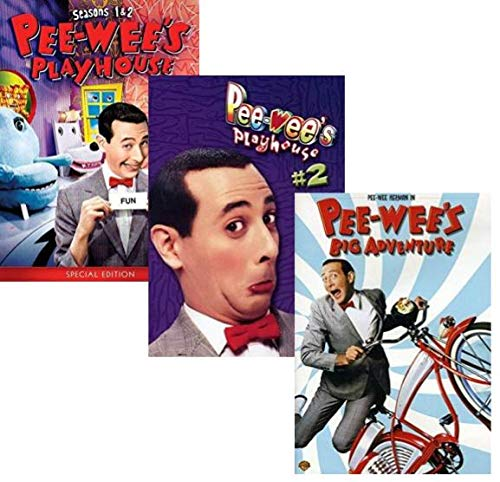 Pee-Wee's Playhouse: The Complete Series Seasons 1,2,3,4 & 5 + Pee-Wee's Big Adventure: The Movie
