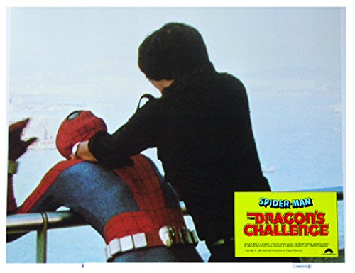 Spider-Man & the Dragon's Challenge 1980 Authentic, Original VINTAGE Marvel production 11×14 Lobby Card #4