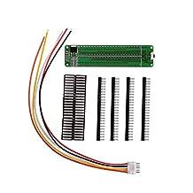 Nobsound Dual 24 Stereo Level Indicator Audio Spectrum VU Meter AGC Mode LED Music Display Screen Analyzer for Amplifiers (DIY Kit)