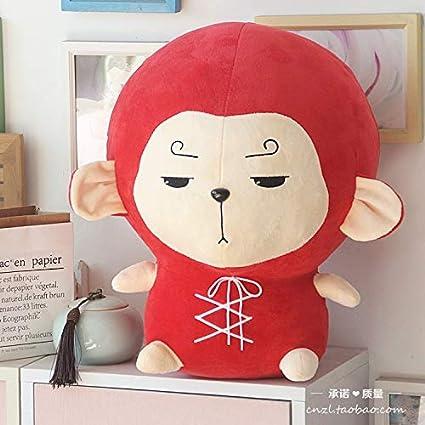 BAONZEN Notas de Viaje de la Flor con la figurita de Mono Meng Wukong Sun Liukong