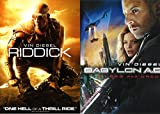 Vin Diesel Sci- Fi Fantasy Double Feature: BABYLON A.D. & RIDDICK 2 DVD RAW AND UNCUT