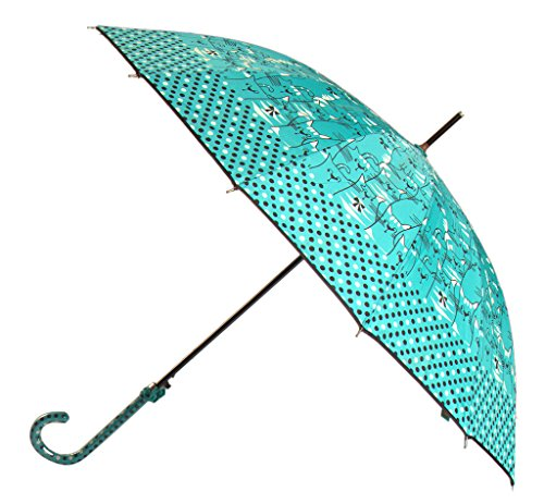 Generic Spring Printed Umbrella Size 60inch Color Blue by Generic