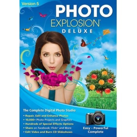 Price comparison product image Nova 727298423617 Photo Explosion Deluxe Version 5 - Face Filter 2 Editing Software - PhotoStitcher - 10