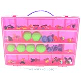 Life Made Better Cabbage Patch Case, Toy Storage Carrying Box. Figures Playset Organizer. Accessories For Kids by LMB