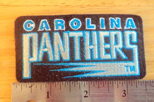 finest selection c93f6 77820 Carolina Panthers NFL Football Embroidered Iron On Patch 3.5 ...
