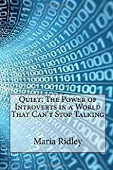 Quiet: The Power of Introverts in a World That Can't Stop Talking Paperback