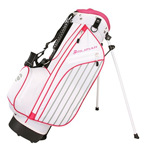 - Orlimar Golf ATS Junior Girl's Pink Golf Stand Bag (Ages 5-8)