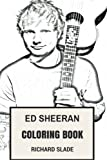 img - for Ed Sheeran Coloring Book: English Acoustic Pop Prodigy and Folk Ed Sheeran Inspired Adult Coloring Book (Coloring Book for Adults) book / textbook / text book