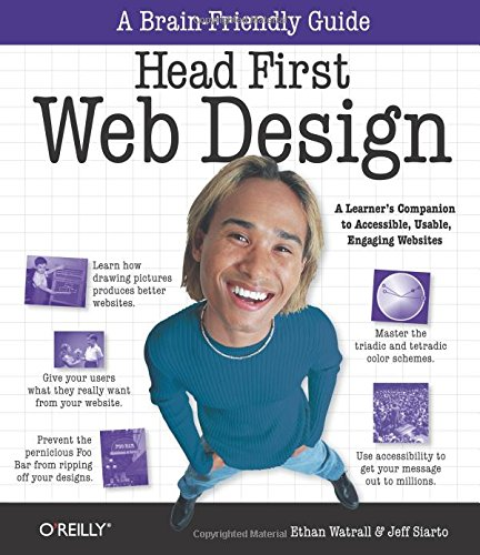 51OmFfTtlHL - Head First Web Design: A Learner's Companion to Accessible, Usable, Engaging Websites