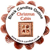 Black Candles Wax Tart Melt - Christmas Cabin Fragrance by Black Candles Online