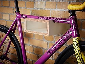 Nonstop Furniture - Soporte de Pared para Bicicletas (Madera ...