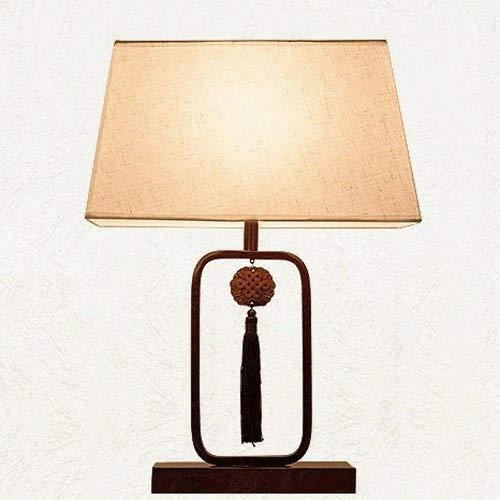 FWTD Schlafzimmer Nachttischlampe Moderne Retro Zen Wohnzimmer Studie Schreibtischlampe Hotel Engineering Dekorative Tischlampe Ohne Lichtquelle Neueste 2019