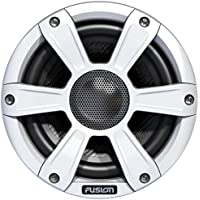 Fusion SG-FL65SPW 6.5 White 230W Coaxial Sports Marine Speakers with LED (Pair)