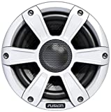 Fusion SG-FL65SPW 6.5'' White 230W Coaxial Sports Marine Speakers with LED (Pair)