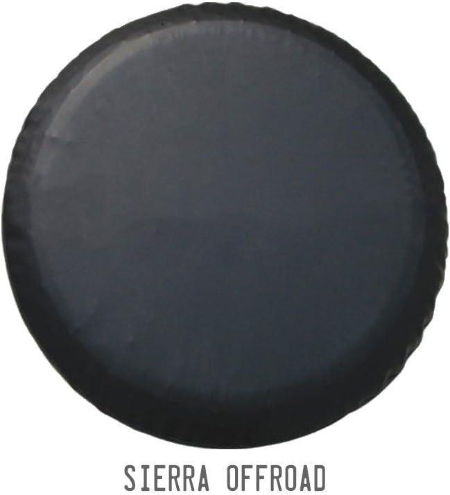 Vinyl Universal Fit 36-37 Sierra Offroad Tire Cover Diamond Black
