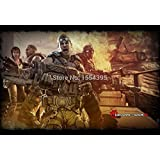 Game Gears Of War 3 Classical Fashion Stylish Home Decor Retro High Quality Poster (50X75Cm) Wall Decor