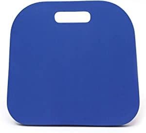 2Krmstr Waterproof Knee Mat Comfortable Easily Washed Protective Kneeler Garden Kneeler Pad for Gardening, Baby Bath, Floor Cleaning, Yoga, Prayers, Exercise Fitness, 13.3 x12.8 x 0.9, Blue.