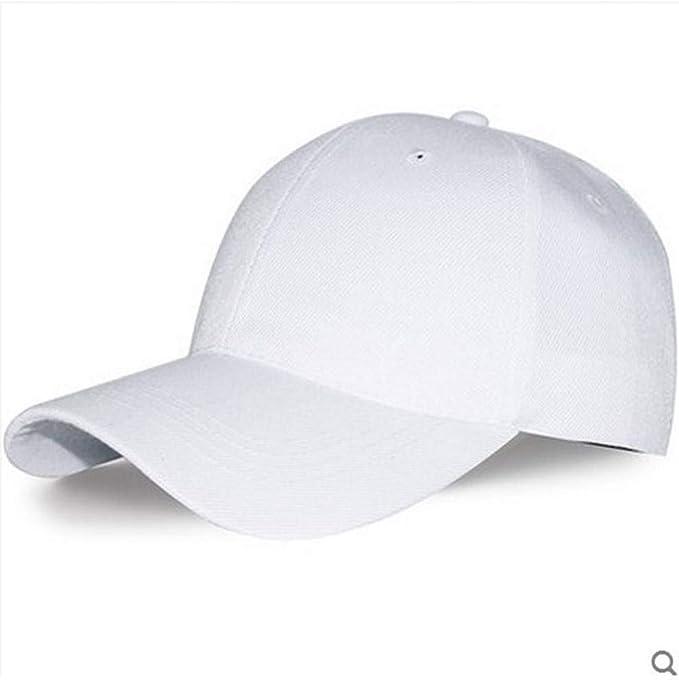 YEmaozi Mujeres Hombres Gorras de béisbol Lisas básicas Sombrero ...