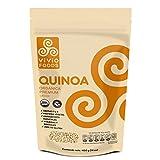 Vivio Foods, Quinoa Orgánica Premium, 400 gramos