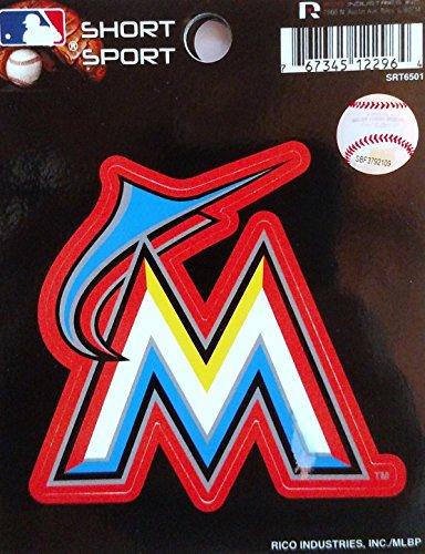MLB Miami Marlins Short Sport Decal ()