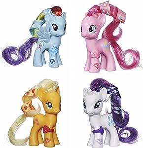 My Little Pony Cutie Mark Magic Bundle Set Rainbow Dash Rarity Pinkie Pie Applejack