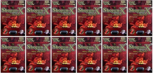 Shogun X Pills Best Male Enhancing Natural Performance Capsules New Most Effective Natural Amplifier for Performance, Energy, and Endurance (12 Pills)