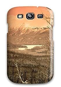 Premium [TlfUdiZ11837trnqD]winter Embraced Skilak Lake Kenai Peninsula Alaska Nature Other Case For Galaxy S3- Eco-friendly Packaging