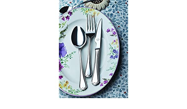 Amazon.com | idurgo Collina Ref. 16800 Cutlery Set, Stainless Steel: Dinnerware Sets