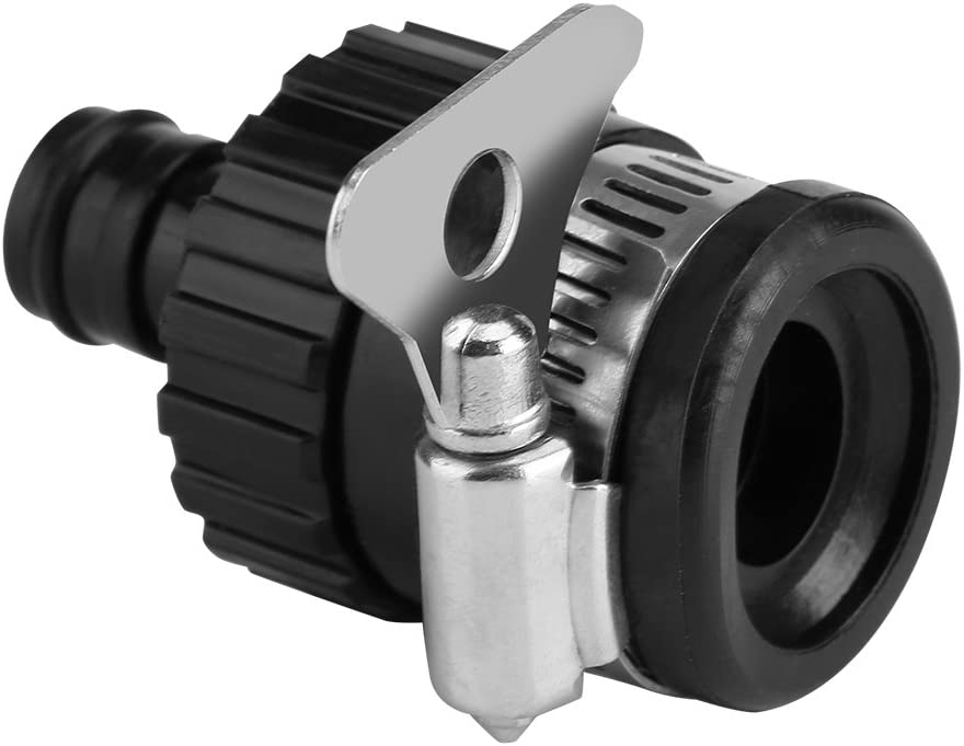 Universal Garden Watering Water Hose Pipe Tap Plastic Connector Adaptor Fitting