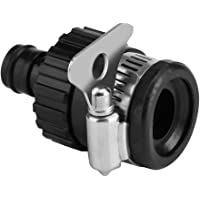 Tap Connector Universal Adjustable Adapter Hose Pipe Fitting Kitchen Gardening Car Washing Cleaning
