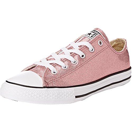 Converse Little Girls Chuck Taylor All Star Ox Glitter Casual Sneakers