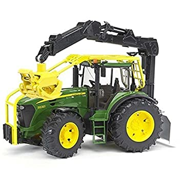 Bruder John Deere 7930 Forestry Tractor By Bruder Toys Amazon Co Uk