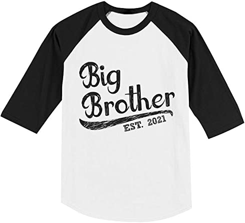 Big Brother Shirt Big Bro Shirt Raglan Shirt Big Brother Horse Shirt Toddler Boy Baseball Tee Sibling Shirt Little Brother Shirt Lil Bro