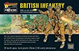 Bolt Action Late War British & Commonwealth Infantry 1:56 WWII Military Wargaming Plastic Model Kit