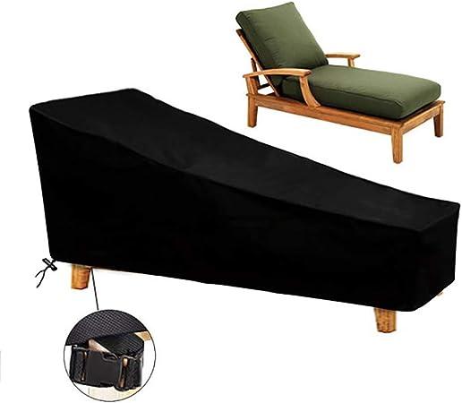 Osarke - Funda impermeable para tumbona de jardín o exteriores, protección UV 420D Oxford de 200 x 75 x 40 x 70 cm: Amazon.es: Hogar