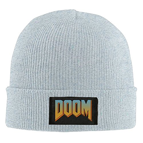 Price comparison product image Unisex Doom Logo Beanie Cap
