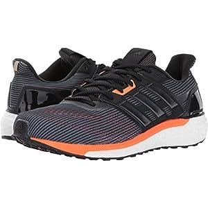 Adidas Men's Supernova m Running Shoe, Utility Black/Black/Solar Orange, 10.5 Medium US