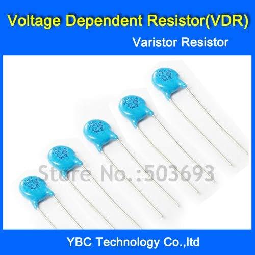 MAO YEYE 100pcs/lot Voltage Dependent Resistor VDR 14D101K 14D-101K Varistor Resistor