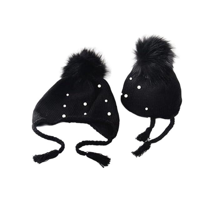 Koly Sombrero de Earbud de la pelota de la muchacha del bebé Niño Imprimir  Sombreros gorros 301f0506d21