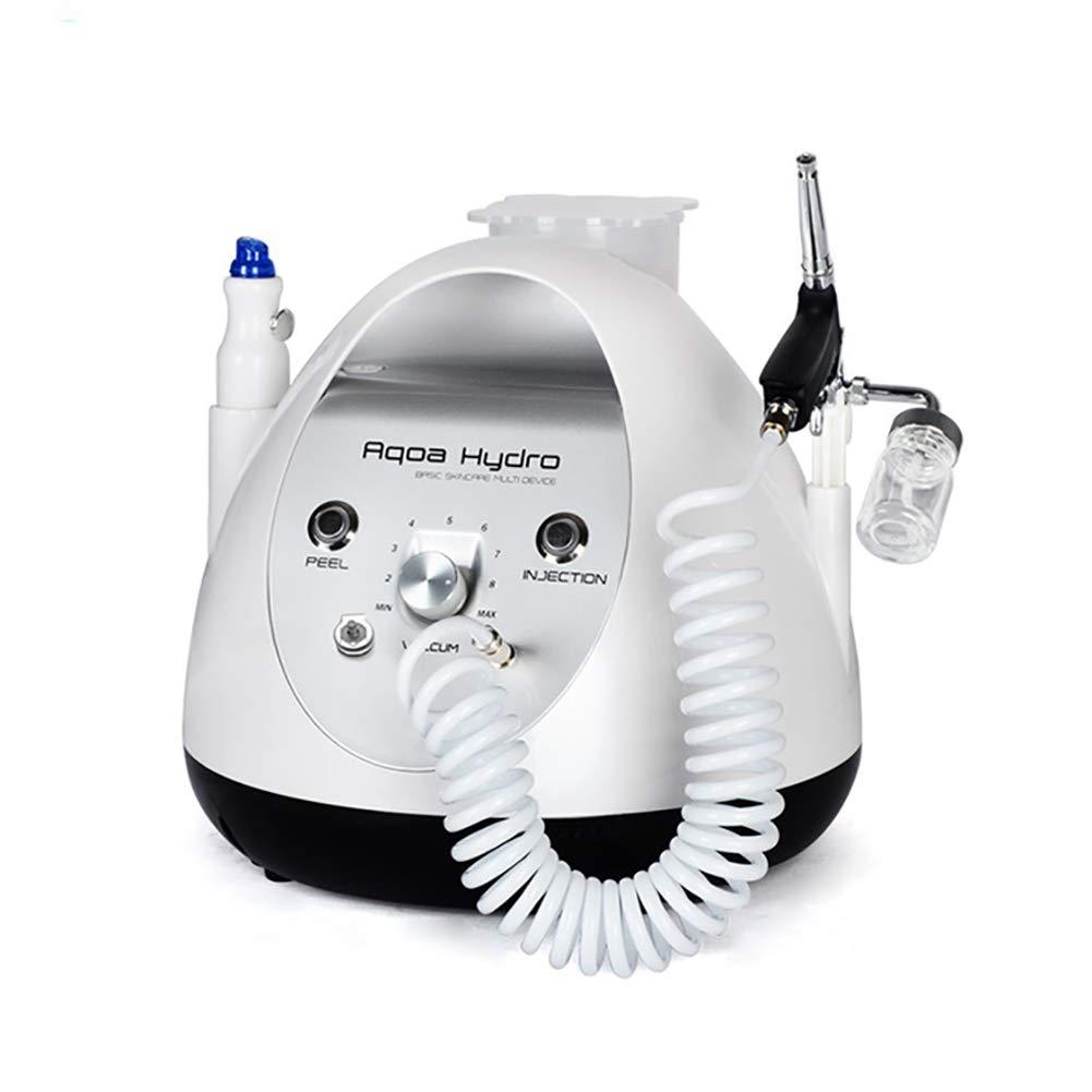 Portable Skin Care Device 2 in 1 Vacuum Suction Blackhead Acne Removal Hydro-Dermabrasion Facial Sprayer Rejuvenation Skin Machine