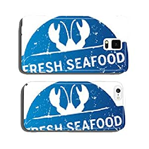 Button fresh seafood cell phone cover case Samsung S5