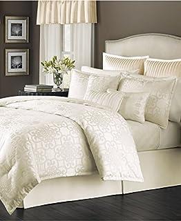 Exceptional MARTHA STEWART   Savannah Ivory 22 Piece Queen Comforter Set