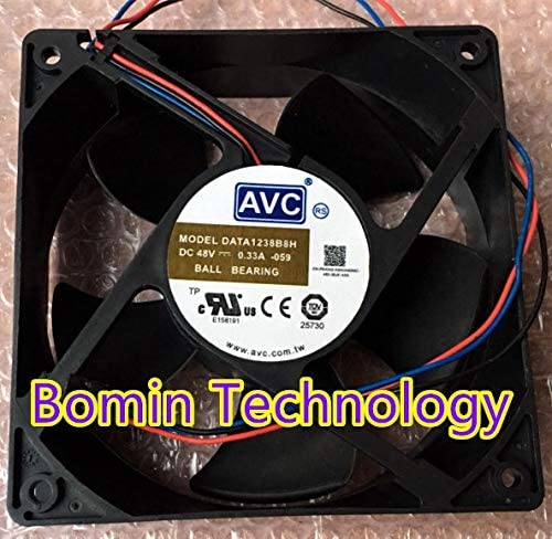 Bomin Technology for AVC DATA1238B8H 48V 0.33A 3-Wire 12CM Cooling Fan