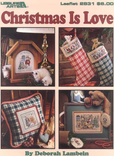 Love Counted Cross Stitch Pattern - Christmas is Love- Counted Cross Stitch Pattern