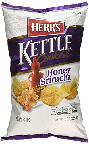 Herrs Kettle Cooked - Herr's Honey Sriracha Kettle Cooked Chips, 8.0 Ounce