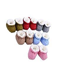Dean Vogt Baby Cozy Fleece Booties Infant Warm Winter Newborn Baby Boots Slipper Socks Prewalker
