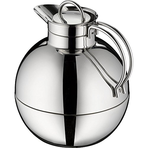 alfi Kugel Glass Vacuum Polished Thermal Carafe for Hot and Cold Beverages, 0.94 L, Stainless Steel by Alfi (Image #3)