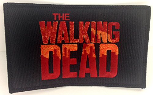 The Walking Dead Logo Embroidered Patch