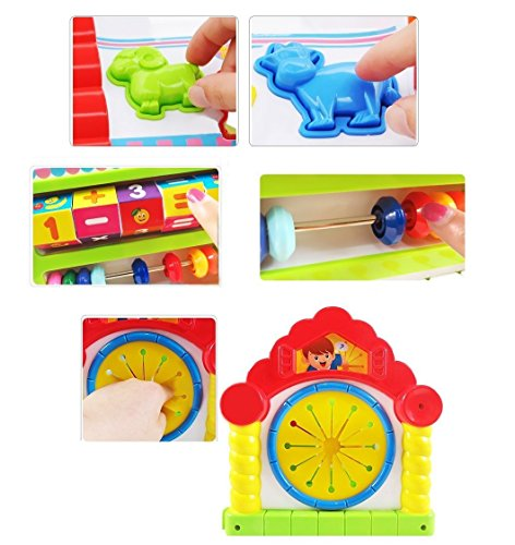 Smartcraft Colorful and Attractive Funny Cottage Educational Toy, Learning House - Baby Birthday Gift for 1 2 3 Year Old Boy Girl Child