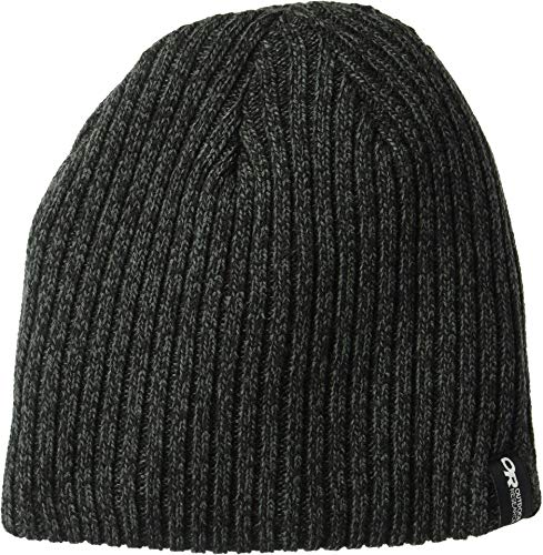 Outdoor Research Kids' Camber Beanie, Black/Charcoal, 1size